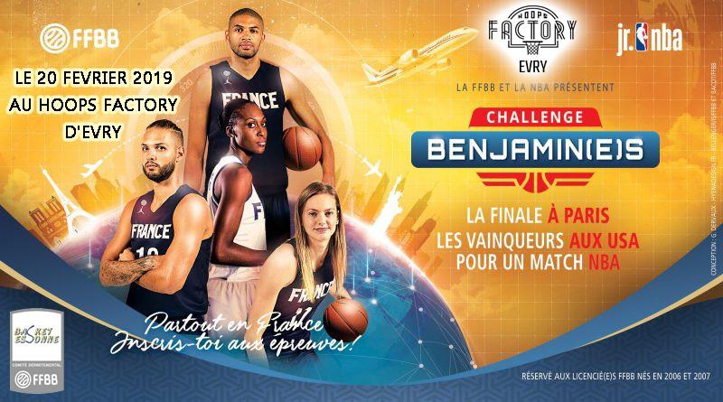 Challenge Benjamins 2019 du Comite de l'Essonne