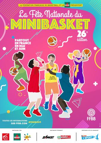 Fête Nationale du mini basket 2019 à Palaiseau