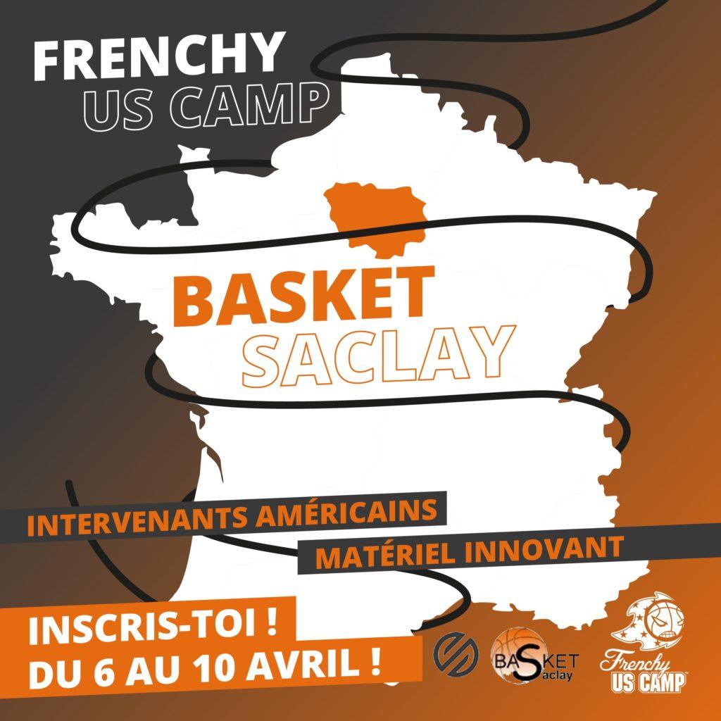 Saclay Frenchy US Camp 2020 : du 6 au 10 AVRIL 2020
